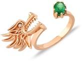 Dragon Optical Selda Jewellery Lady Ring Emerald