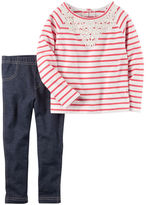Carter's 2-Piece French Terry Top & Jegging Set