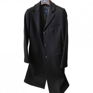 Fay Brown Wool Coat for Women