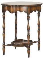 Safavieh Couture Collection Halswell Acacia/ Mahogany Walnut Side Table
