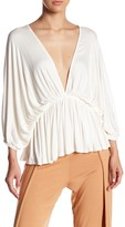 Rachel Pally Spike Ribbed Blouse