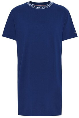 Tommy Jeans Branded Neck Dress