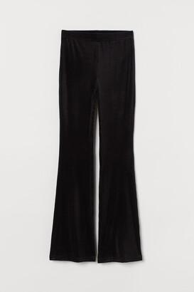 H&M Corduroy Velour Leggings