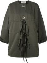 Ports 1961 buttoned jacket - women - Cotton/Silk - 38
