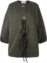 Ports 1961 buttoned jacket - women - Silk/Cotton - 38