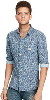 Denim & Supply Ralph Lauren Floral Slub Cotton Sport Shirt