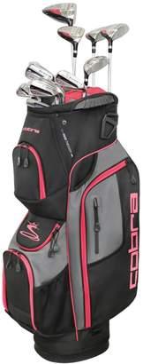 Cobra Golf XL Speed Women's 13 Piece Petite Black-Pink Complete Set