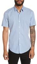 BOSS Men's Robbie Trim Fit Print Sport Shirt