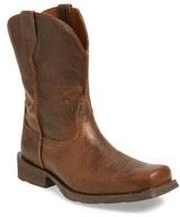 Ariat Men's 'Rambler' Square Toe Leather Cowboy Boot