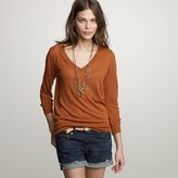 J Crew Silk Linen Sweater