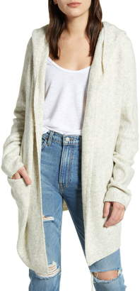French Connection Flossy Hooded Cardigan