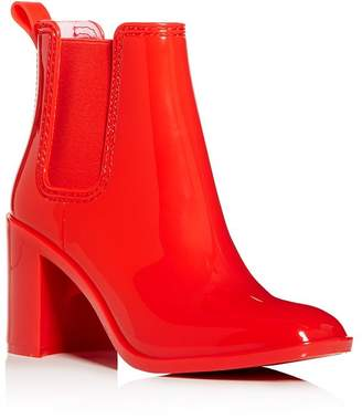 Jeffrey Campbell Women's Hurricane Square-Toe Block-Heel Chelsea Boots