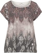 Zizzi Plus Size Printed t-shirt