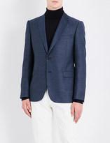 Armani Collezioni Slim-fit wool jacket