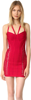 Herve Leger Delana Flipped Bandage Dress
