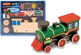 Melissa & Doug Decorate-Your-Own Wooden Train