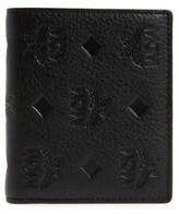 MCM Women's Klara Leather Bifold Wallet - Black