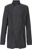 Alchemy off-centre fastening shirt - men - Cotton/Spandex/Elastane - S