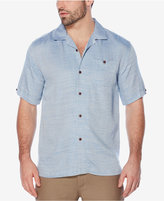 Cubavera Men's Textured Two-Tone Shirt