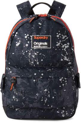 Superdry Marble Camouflage Splatter Backpack