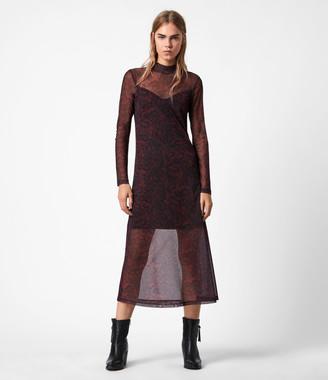 AllSaints Hanna Stanza Dress