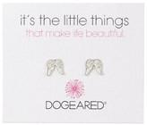 Dogeared Teeny Angel Wings Earrings
