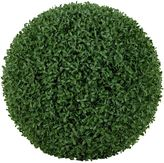 Rogue Artificial Sculpted Box Hedge Ball, 45cm