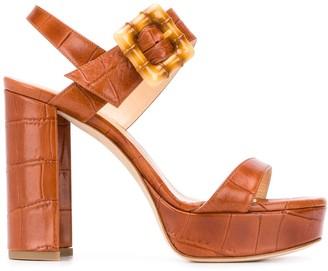 Chloe Gosselin Amber 115mm sandals