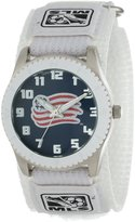 Game Time Men's MLS-ROW-NE New England Revolution Rookie White Round Analog Watch
