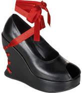 Demonia Women's Bravo 03 - Black PU Casual Shoes