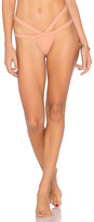 Minimale Animale Bandit Brief Bottom in Cognac. - size L (also in S,XS)