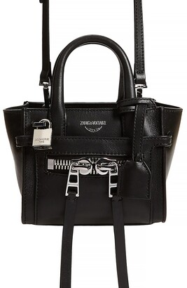 Zadig & Voltaire Candide Leather Crossbody Bag