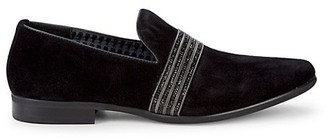 Karl Lagerfeld Paris Classic Suede Loafers