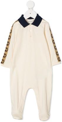 Gucci Kids GG trim pajamas