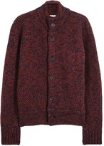 Oliver Spencer Darwin Chunky-knit Wool Jacket