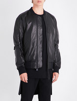 Helmut Lang Bantam leather bomber jacket