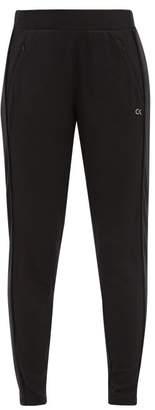 Calvin Klein Logo Print Jersey Leggings - Womens - Black