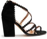 Alexa Wagner Garda block-heel suede sandals