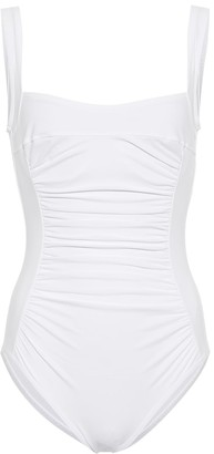 Karla Colletto Ruched swimsuit
