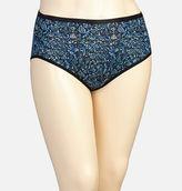 Avenue Rosemaling Cotton Modern Brief Panty
