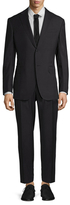 Gucci Wool Solid Notch Lapel Suit
