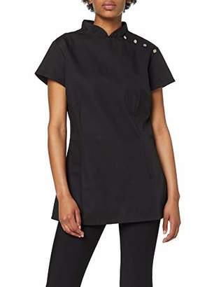 "Alexandra Beauty Salon Uniform Tunic NF959 - Size: size 12/34.5"" / 88cm - Color: black"