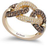 Le Vian Chocolate Diamonds 14K Yellow Gold Diamond Ring