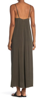 NSF Antonia Side Slit Maxi Dress