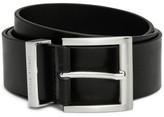 HUGO BOSS Bud Leather Pin Buckle Belt