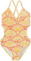 Roxy Girls' Sunrise Summer One Piece Swimsuit (716) - 8145128
