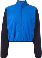 Comme des Garcons contrast sleeve bomber jacket