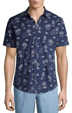 No Boundaries Men/'s and Big Men/'s Short Sleeve Thermal T-Shirt White Color
