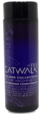 Tigi Catwalk Your Highness Nourishing Conditioner, 8.45-oz, from Purebeauty Salon & Spa
