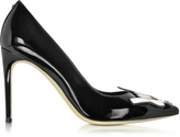 DSQUARED2 Patch Punk Black Patent Leather Pump